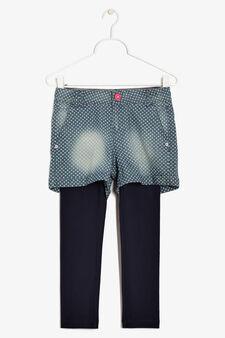 Set shorts e leggings, Blu chiaro, hi-res