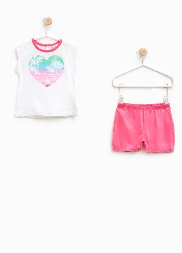 Printed cotton pyjamas | OVS