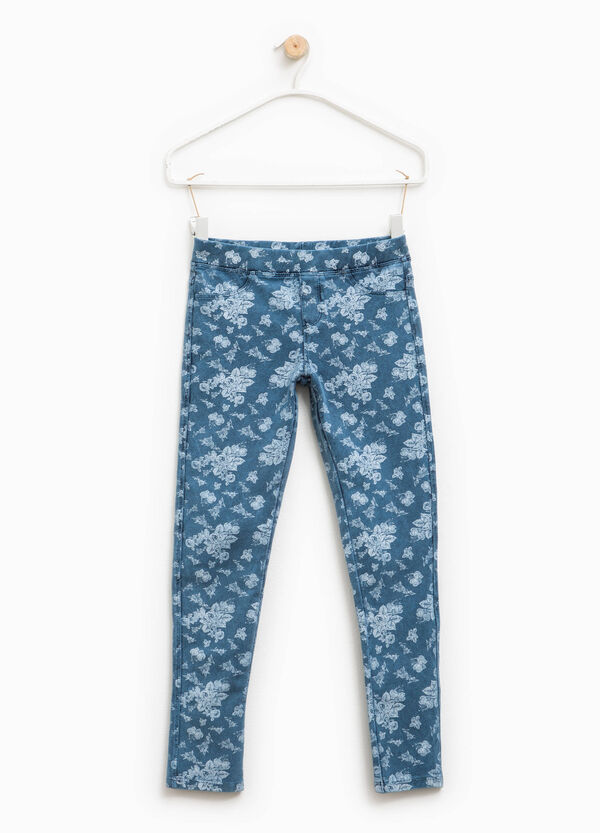Jeggings fantasia floreale | OVS