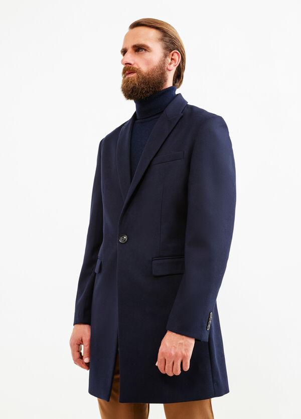Abrigo custom fit en viscosa elástica | OVS