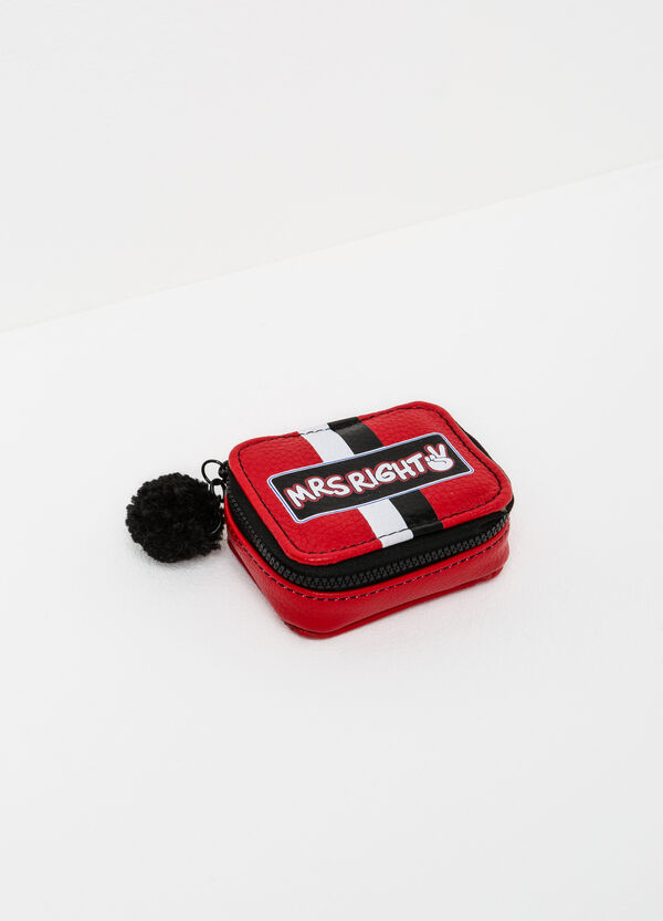 Textured medicine holder with pompom | OVS