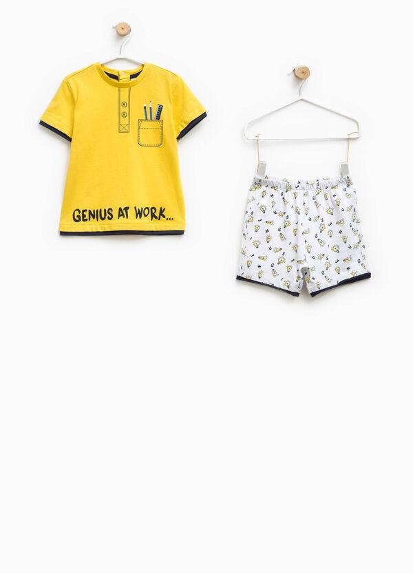 T-shirt and shorts pyjama set | OVS