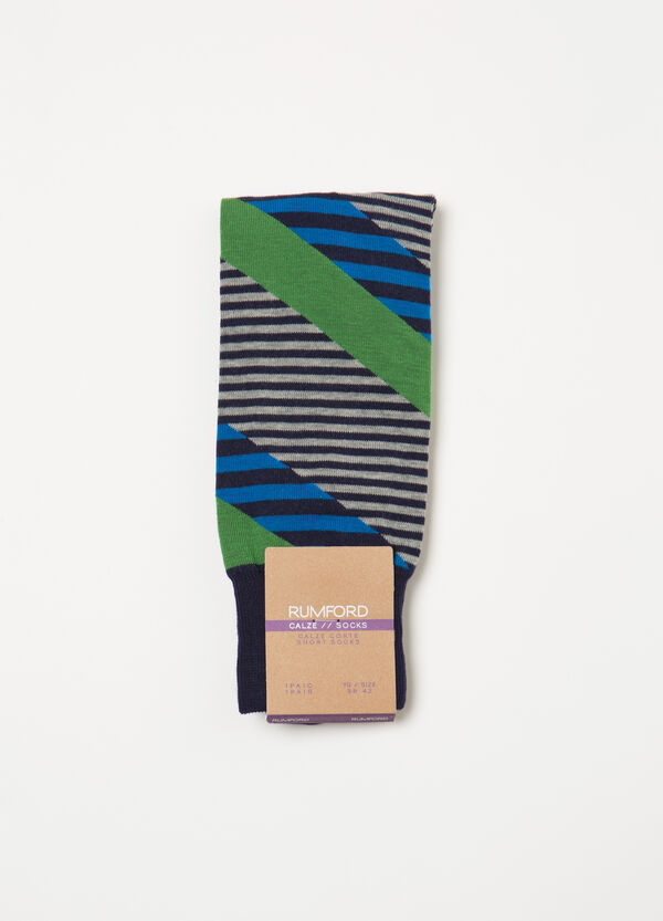 Short socks with Rumford striped pattern | OVS