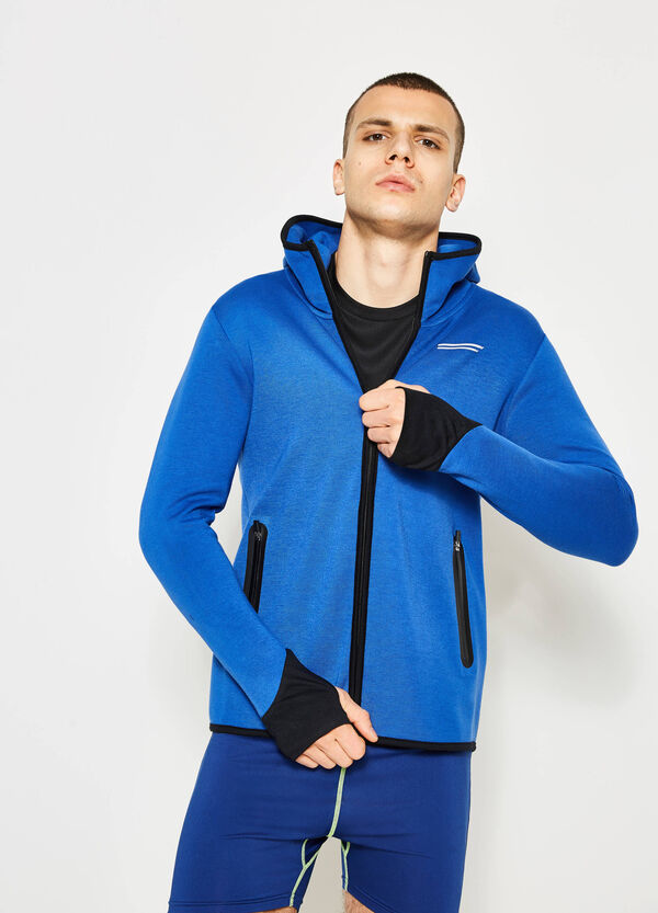 Hoodie with contrasting colour edging | OVS