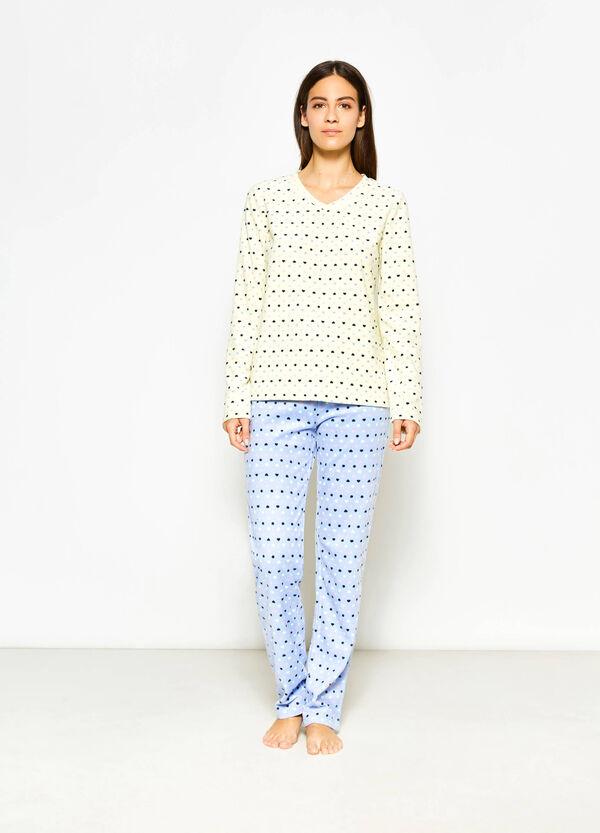 Camiseta de pijama en tejido polar con estampado | OVS