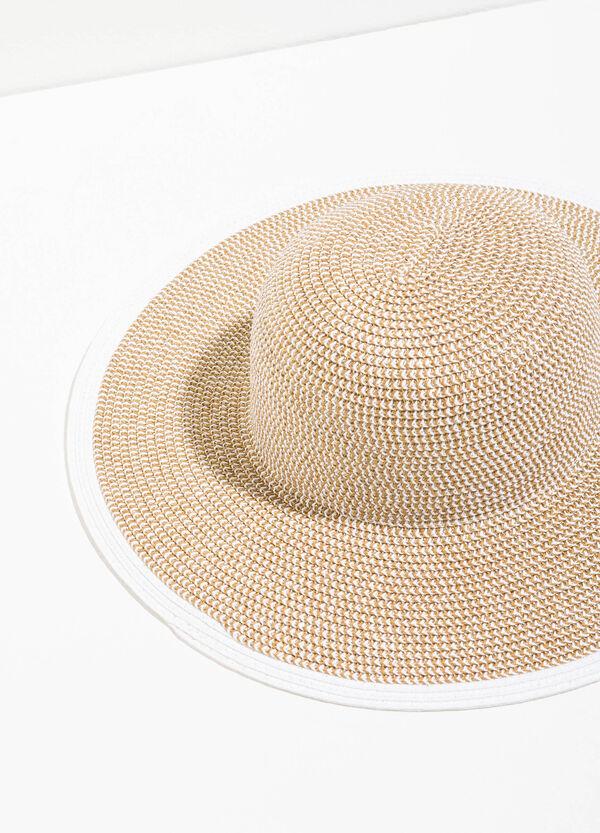 Sombrero de paja con ala ancha | OVS