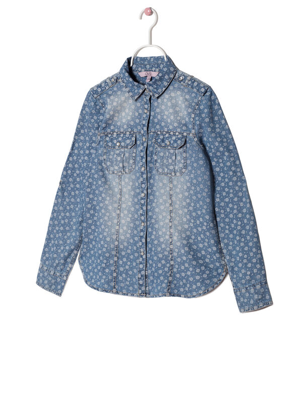 Faded patterned shirt | OVS