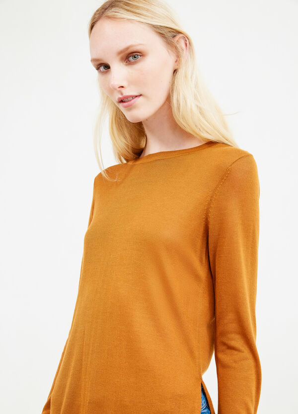 Long pullover with slits   OVS