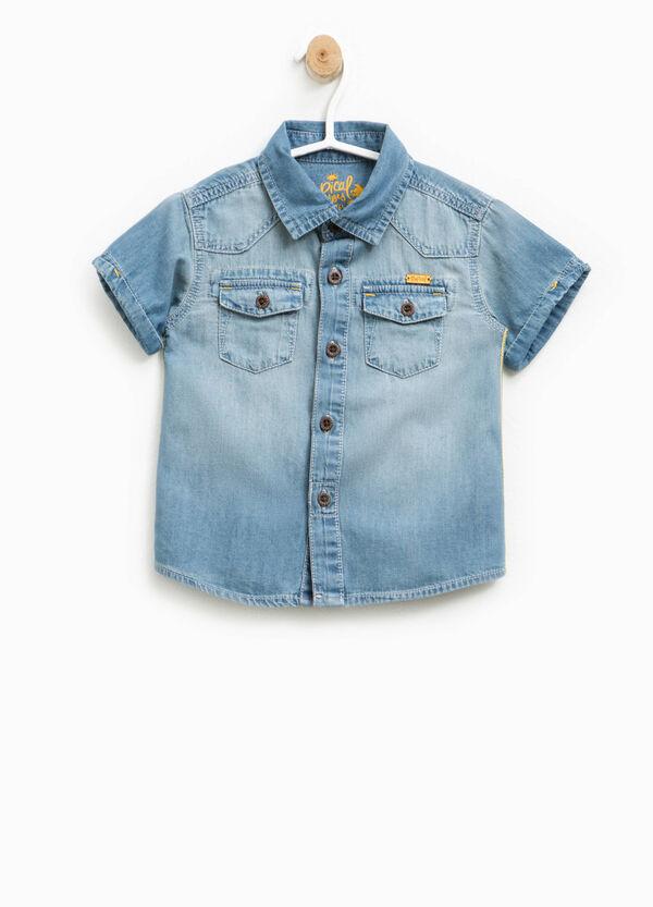 Camicia di jeans con maniche corte | OVS