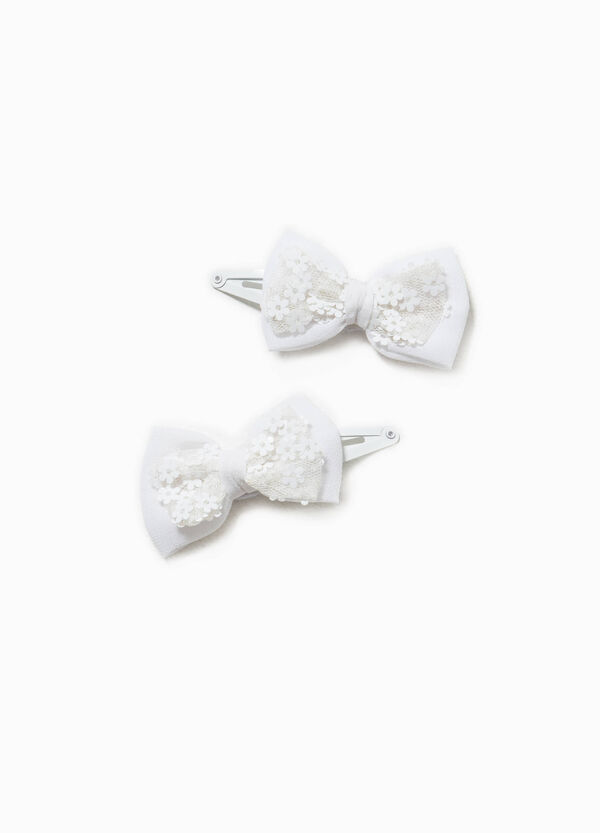 Set of two hair clips with bow   OVS