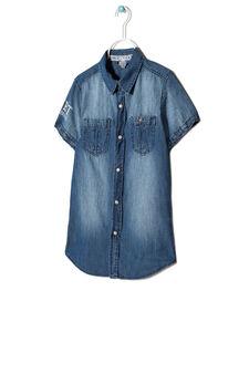 Camicia di jeans, Blu denim, hi-res