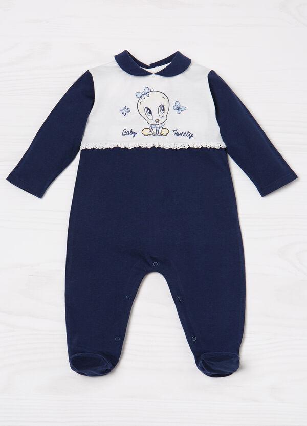 100% cotton romper suit with Tweetie Pie print | OVS