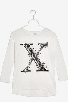 T-shirt maniche lunghe, Bianco, hi-res