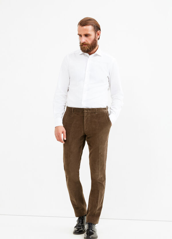 Rumford ribbed trousers | OVS