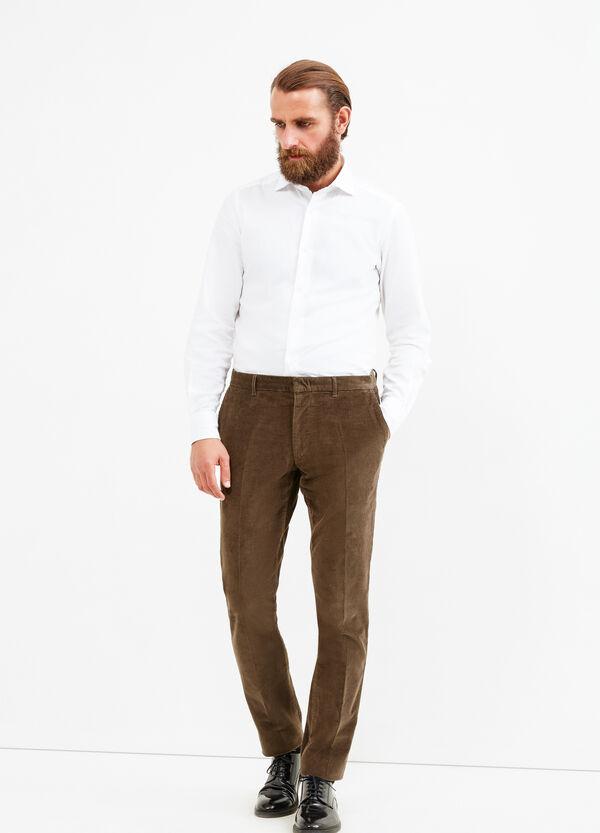 Pantaloni Rumford a costina | OVS