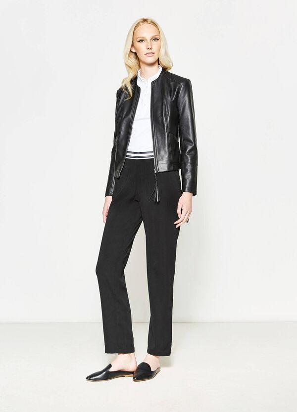 Pantalón con cintura de rayas | OVS