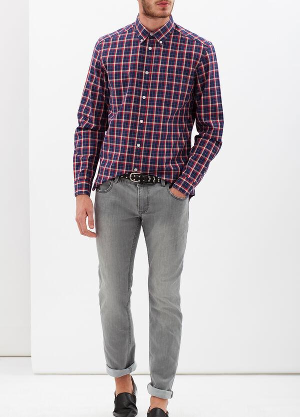 Camicia tartan bicolore | OVS