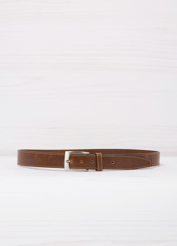 Smooth faux leather belt. | OVS