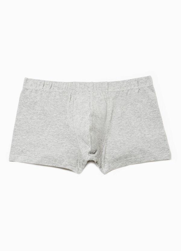 Bóxer en algodón elástico de color liso | OVS