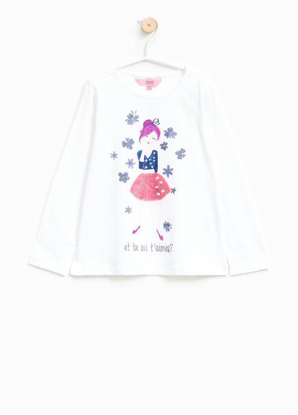 Camiseta en algodón 100% con estampado   OVS