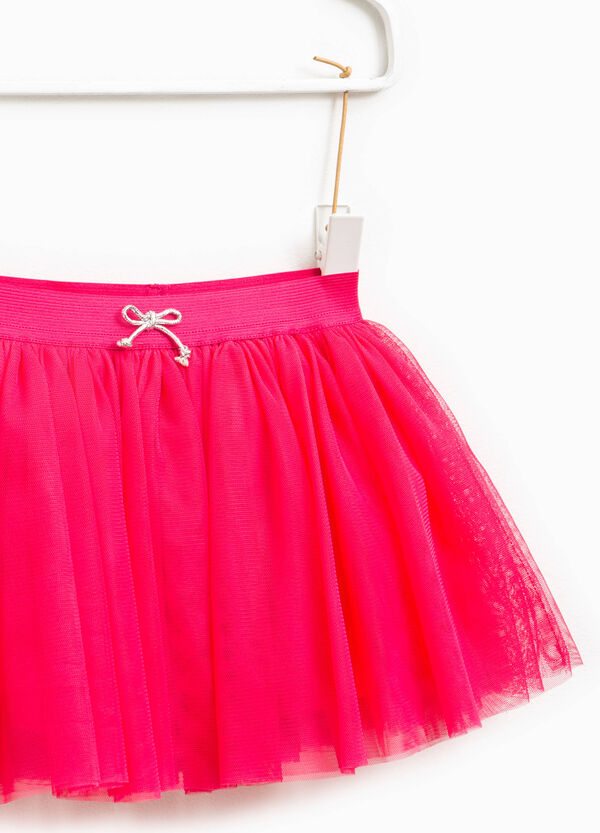 Tulle skirt with bow | OVS