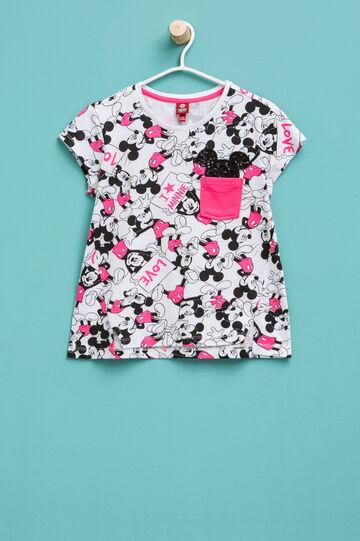 Camiseta con estampado de Mickey Mouse