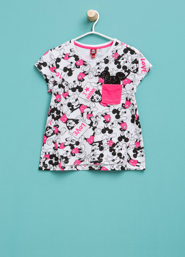 Mickey Mouse patterned T-shirt | OVS