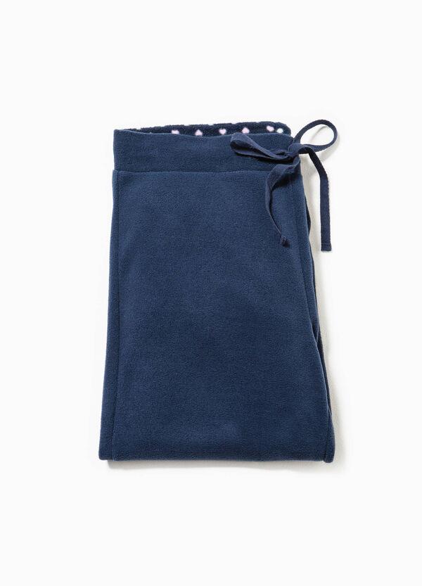 Pantalón de pijama en tejido polar con cordón de ajuste | OVS