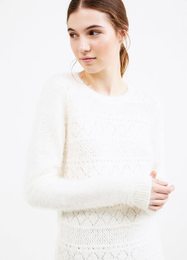 Pullover con lavorazione tricot | OVS