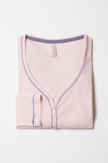 V-neck pyjama top