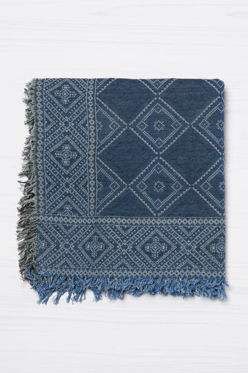 100% cotton jacquard scarf