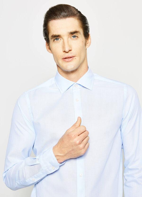 Camisa Rumford slim fit en algodón 100% | OVS