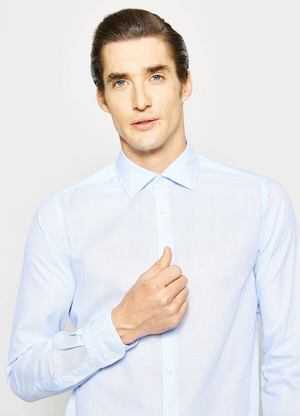 Rumford slim-fit shirt in 100% cotton | OVS
