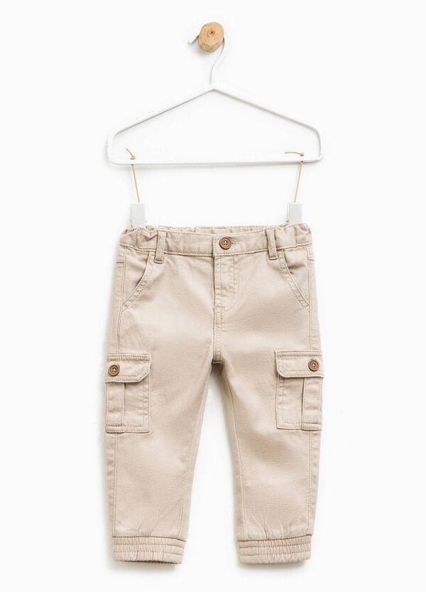 Pantaloni in cotone stretch con tasche | OVS