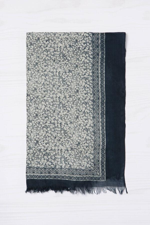 Sciarpa pura viscosa stampata | OVS