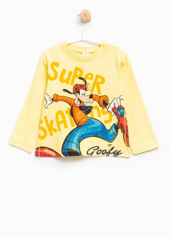 100% cotton T-shirt with Goofy print | OVS