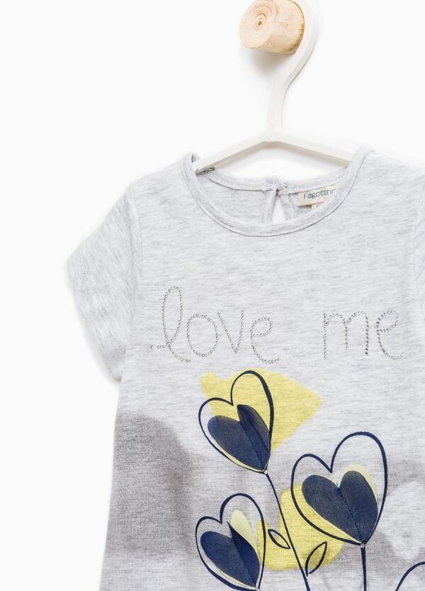 Camiseta elástica con abertura detrás | OVS
