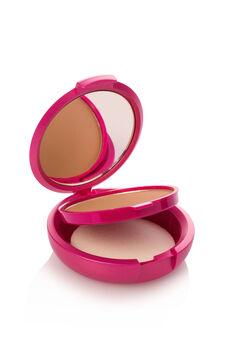 Fondotinta compatto effetto polvere. Coprente come una crema, setoso come una polvere e pratico come un compatto. Con specchietto e spugnetta., Beige, hi-res