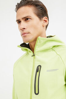 OVS Active Sport Training sweatshirt, Lime Green, hi-res