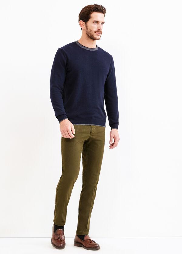 Pantalón Rumford en algodón elástico   OVS