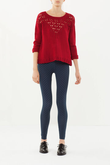 Leggings fantasia, Blu stampa 1, hi-res