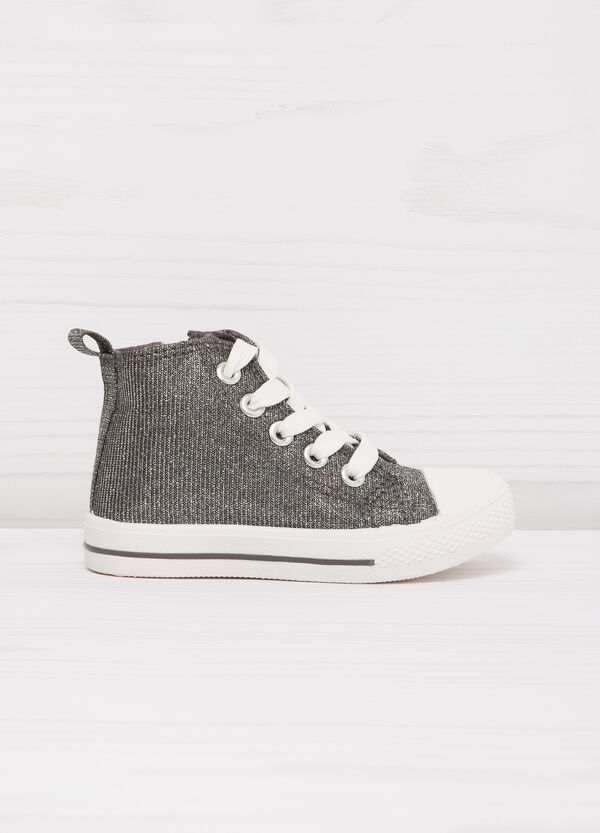 High-top sneakers with zip | OVS
