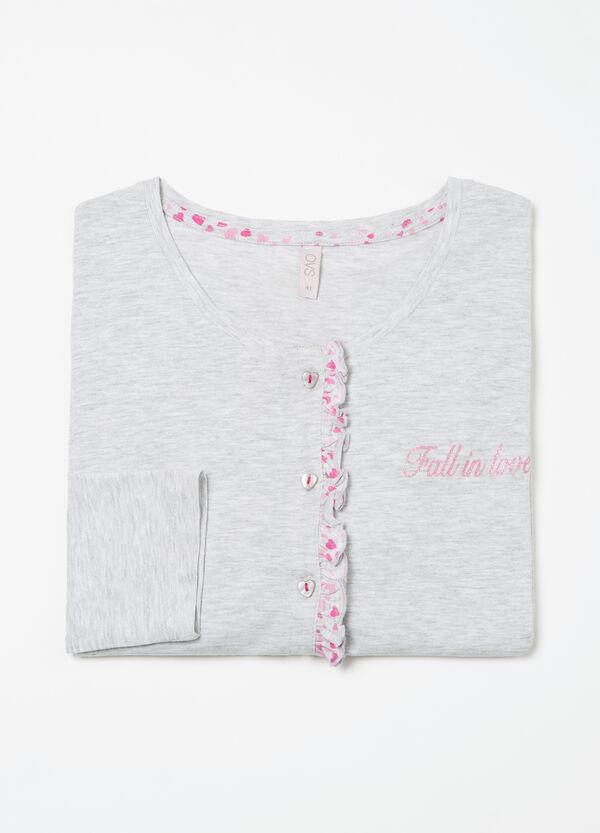 Maglia pigiama con volants Curvy | OVS