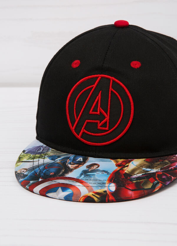 Printed cotton baseball cap | OVS