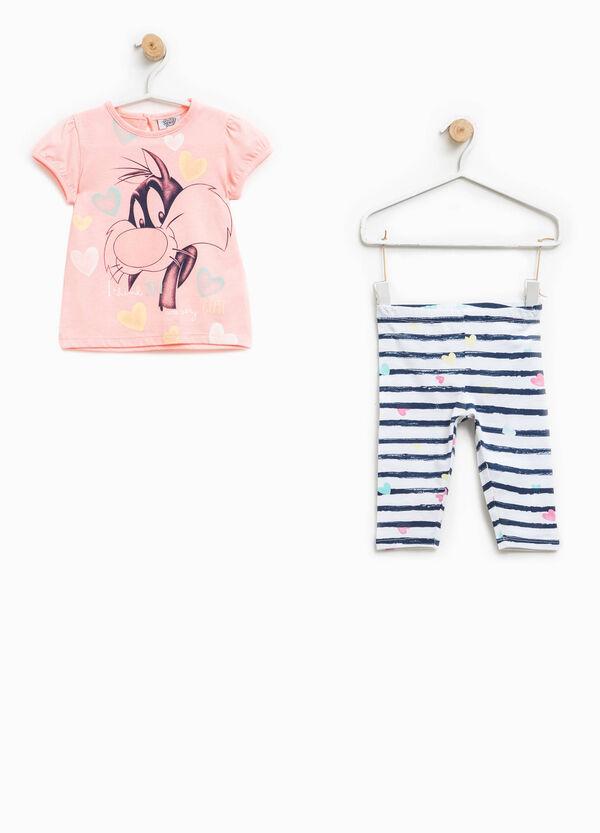 Completo t-shirt e pantaloni Silvestro | OVS