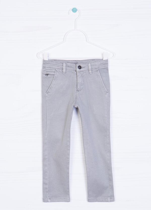 Pantaloni chino cotone stretch | OVS