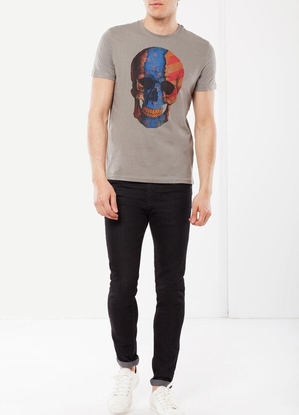 T-shirt con stampa teschi | OVS