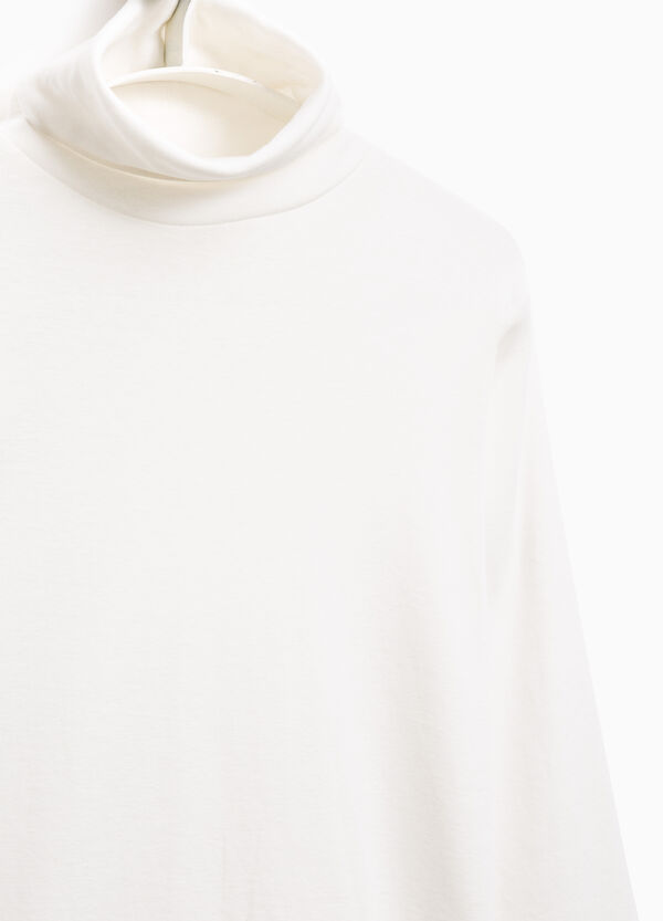 Smart Basic high neck cotton T-shirt | OVS
