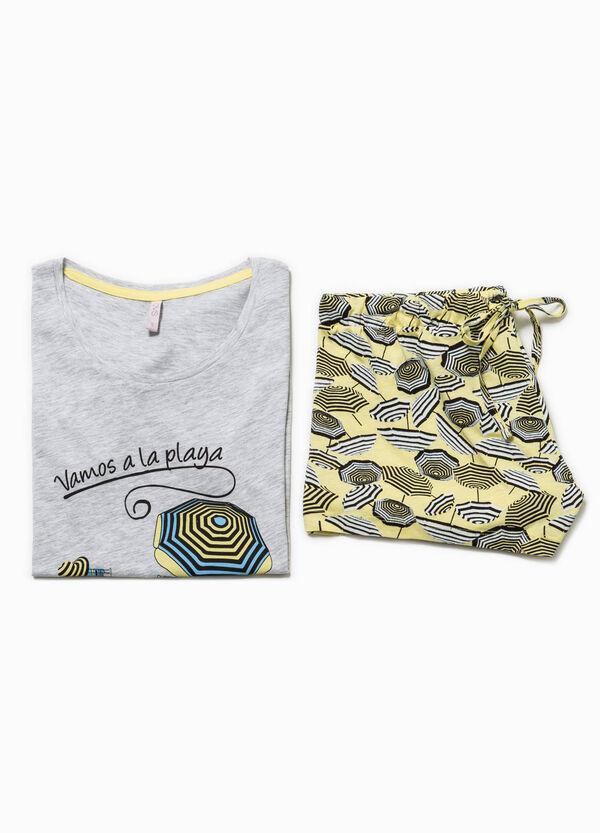 Patterned pyjamas with print   OVS