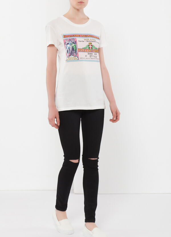 BioCotton T-shirt with EXPO2015 print. | OVS